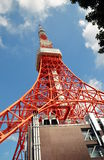 View of Zojo-ji Temple and tokyo Tower, Tokyo, Japan. Stock Images