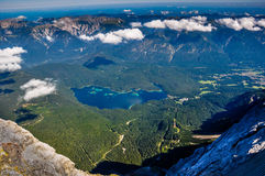 View from the Zugspitze Stock Images