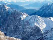 View from Zugspitze Stock Images
