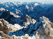 View from Zugspitze Royalty Free Stock Images