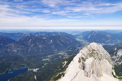View from Zugspitze Stock Photos