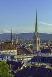 View of Zurich Stock Photo