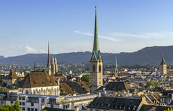 View of Zurich Royalty Free Stock Photo