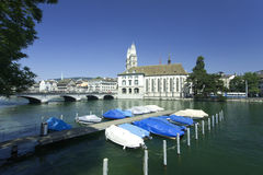 View in Zurich, Switzerland stock images