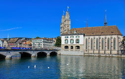 View in Zurich Royalty Free Stock Image