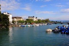 View of Zurich, Switzerland Stock Photography