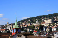 View of Zurich, Switzerland Royalty Free Stock Photography
