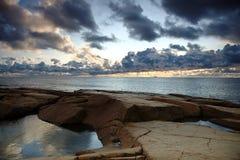 View3 litoral Imagem de Stock