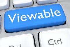 Viewable concept Stock Photos