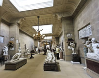 A ViewChatsworth Sculpture Gallery, England Royalty Free Stock Photos