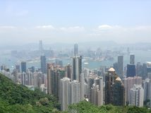 Viewcity de Hong Kong Fotografia de Stock