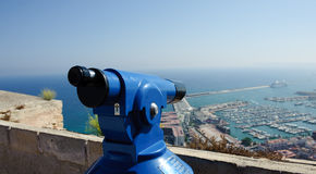 Viewfinder in Alicante Spain Stock Images