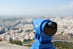 Viewfinder in Alicante Spain Royalty Free Stock Photos
