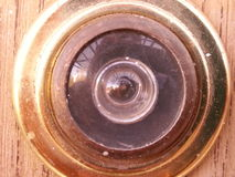 Viewfinder for doors Stock Photography