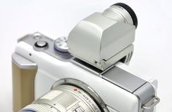 Viewfinder eletrônico da câmara digital fotos de stock royalty free