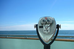 Viewfinder. A viewfinder facing the Ocean, in Atlantic City royalty free stock photos