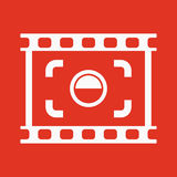 The viewfinder icon. Focusing and photography, photo symbol. Flat. Vector illustration. Button Set Stock Images