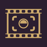 The viewfinder icon. Focusing and photography, photo symbol. Flat. Vector illustration. Button Set Royalty Free Stock Photo