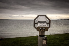 Viewfinder, Lake of Constance, Germany Royalty Free Stock Image