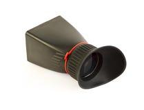 Viewfinder LCD für Berufskamera lizenzfreies stockbild