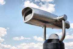 Viewing binoculars Royalty Free Stock Photography