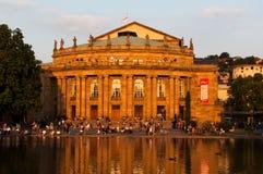 Viewing Don Giovanni общественный Стоковое Изображение