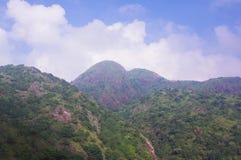 Viewing the nailing ridge at china Royalty Free Stock Image