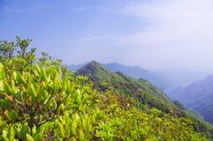Viewing the nailing ridge of china Royalty Free Stock Images