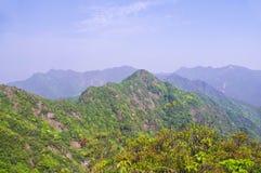 Viewing the nailing ridge of china Stock Photo