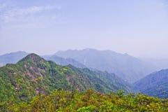 Viewing the nailing ridge of china Stock Photography