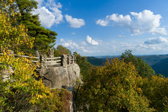 Free Viewing Platform At Coopers Rock State Forest WV Stock Photography - 78845182