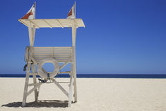 Viewing platform on the beach Royalty Free Stock Photography