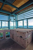 Viewing platform of the historic tower on the Hornisgrinde Stock Photography