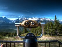 A viewing point in Canada Royalty Free Stock Photo