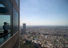 Viewing Tokyo Royalty Free Stock Photos