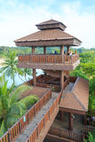 Viewing tower at Palawan Beach - Southernmost Point of Continental Asia, Sentosa Island Stock Photography