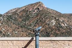 Viewing zakres przy misją Wlec regionalność parka Zdjęcia Stock