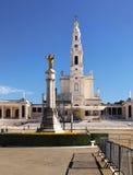 viewl religieux iteresting célèbre du Portugal de point de place de Fatima Image libre de droits