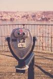 Viewmaster-Ansicht von Yonkers von der Palisade-zwischenstaatlichen Allee Stockfotografie