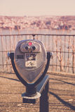 Viewmaster View of Yonkers from Palisades Interstate Parkway Stock Photography