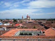 Viewof Granada, Nicaragua Imágenes de archivo libres de regalías