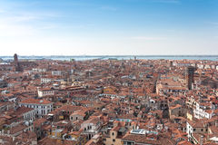 Viewpiont from Campanile, Italy Royalty Free Stock Photos