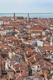 Viewpiont do Campanile, Italy Foto de Stock Royalty Free