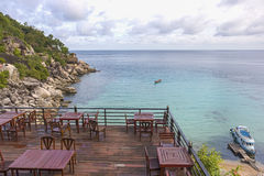 Viewpoint at Ao Muong Koh Tao in Thailand Royalty Free Stock Photo