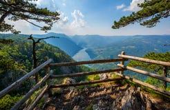 Viewpoint Banjska stena rock in Serbia Royalty Free Stock Photos