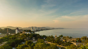 Viewpoint of beach thailand Royalty Free Stock Images