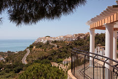 Viewpoint of Benalmadena Stock Image