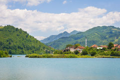 Viewpoint in Bosnia and Herzegovina Royalty Free Stock Photography