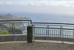 Viewpoint at Cabo Girao in Madeira, Portugal Stock Photos