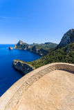 Viewpoint on Cape Formentor, Majorca island Royalty Free Stock Image